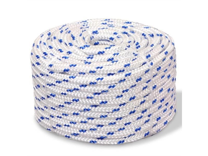 Contemporain chaînes, câbles et cordes serie yamoussoukro corde de bateau polypropylène 14 mm 250 m blanc