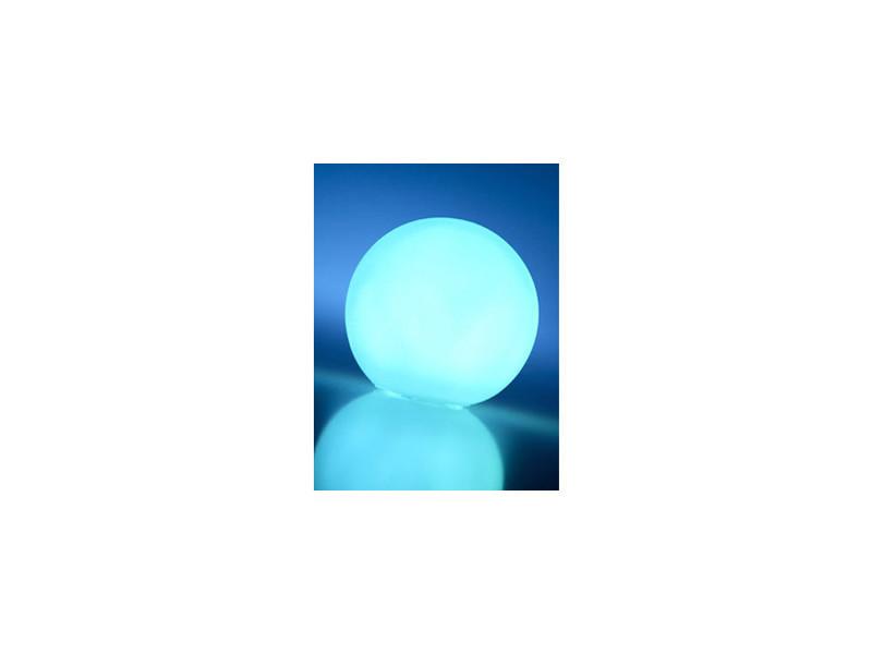 Lampes à poser inedit boule décorative à led multicolore ø 18.50 cm