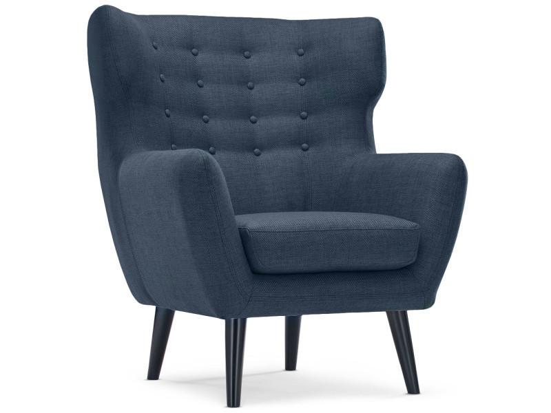 fauteuil scandinave conforama
