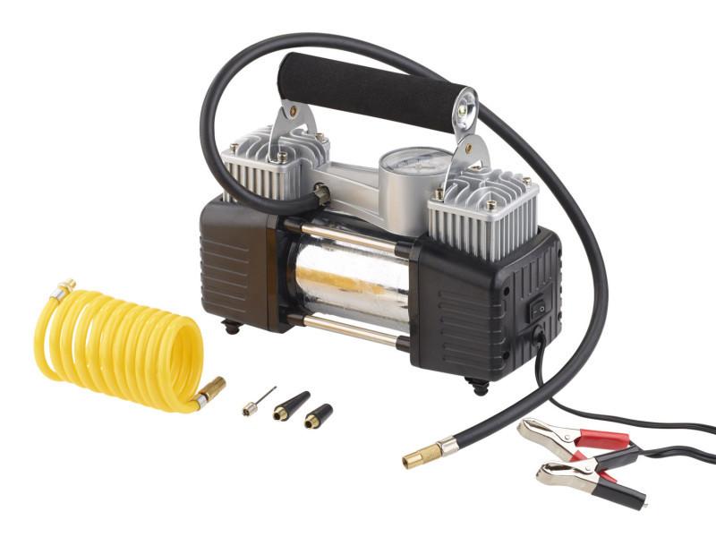 Mini compresseur 12 v / 10 bar avec manomètre – 55l/mn NC5875