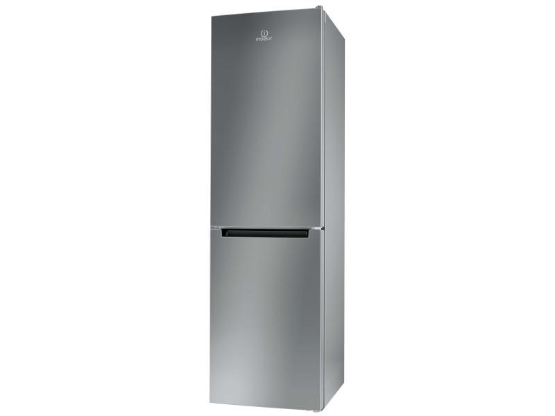 Réfrigérateur combiné 368l indesit 59.6cm a+, xi9t1ix