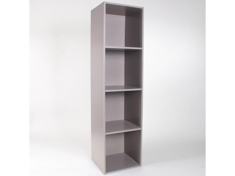 meuble 4 cases avec fond 32 x 30 x 125 cm vente de casme conforama