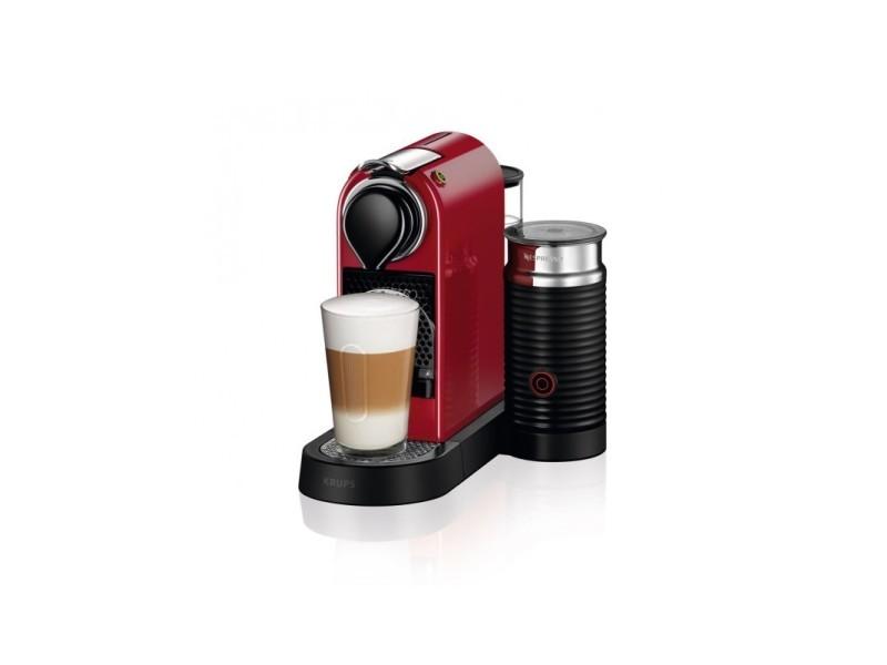 Cafetière à capsules nespresso krups xn7605 - 1260w rouge