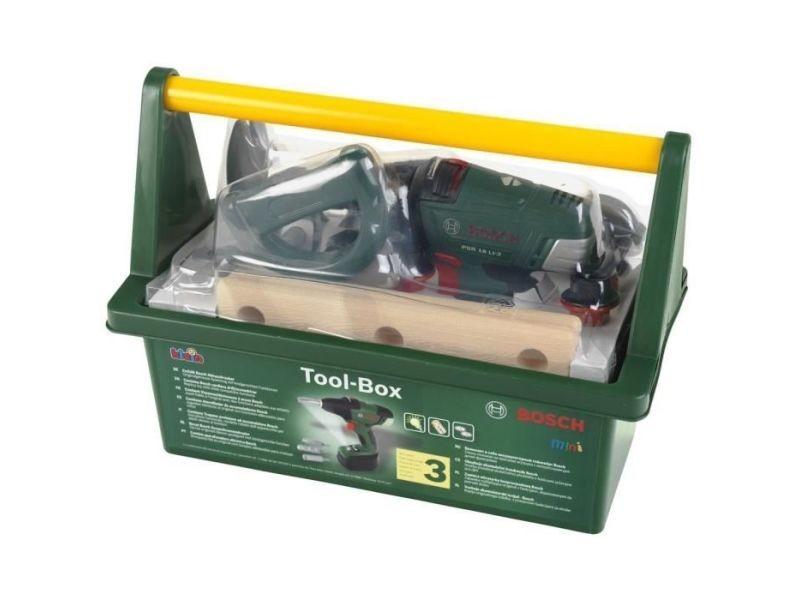 Bricolage - etabli - outil bosch - mini boîte a outils pour enfant