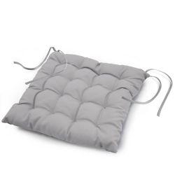 Coussin de chaise assise matelassé 40 x 40 cm gris