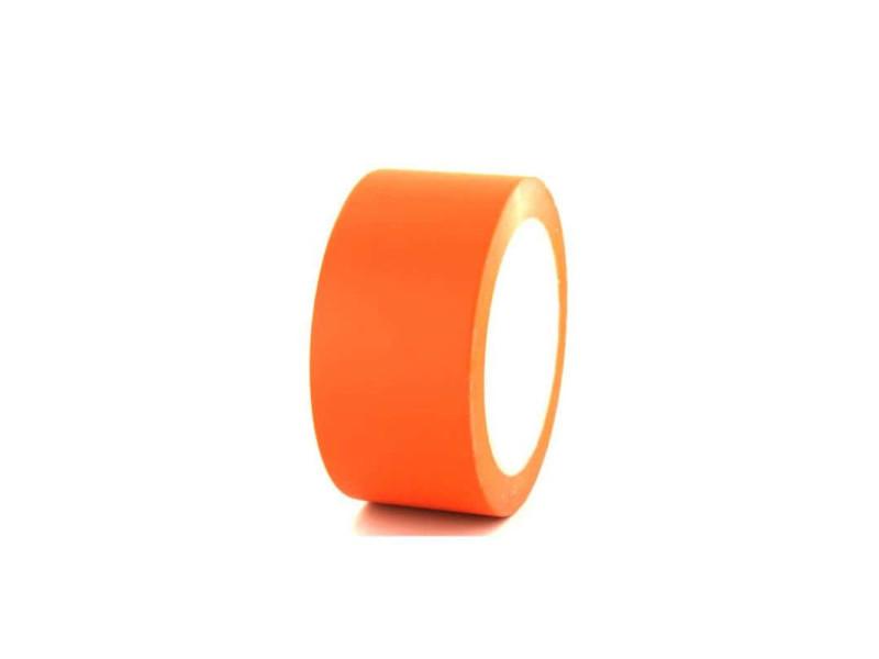 Ruban adhésif vinyle orange 50mm x5 297-50O-x-5