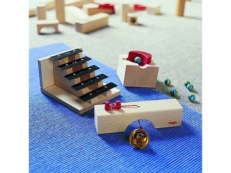 Accessoires pour toboggan à billes : escalier sonore