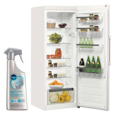 whirlpool r frig rateur frigo simple porte blanc 321l a. Black Bedroom Furniture Sets. Home Design Ideas