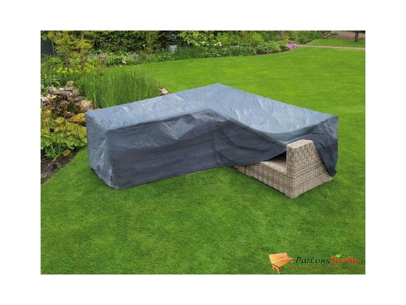 Housse de protection pour canapé d\'angle de jardin - Vente ...