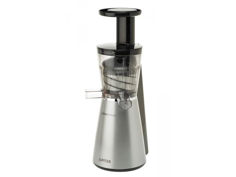 Jupiter juicepresso extracteur de jus vertical argent 150w