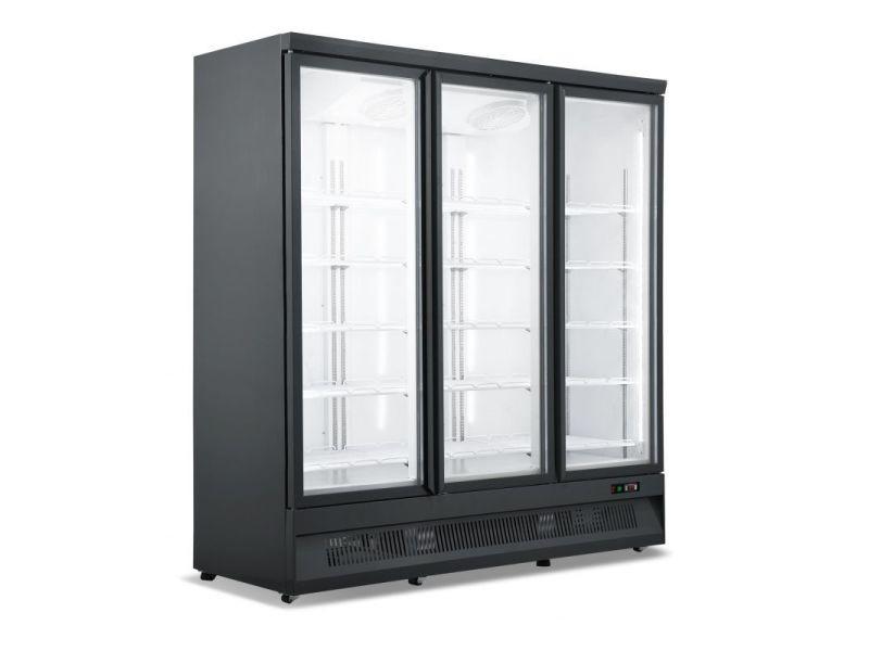 Armoire réfrigérée négative svo 2 ou 3 portes en verre - combisteel - r290 3 portes 1880 mm vitrée