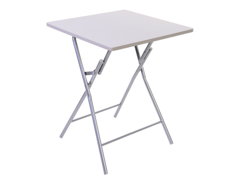 Table pliante basic taupe vente de atmosphera conforama - Table pliante murale conforama ...