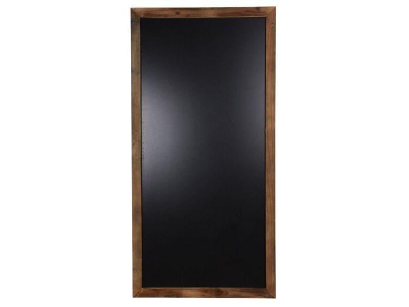 Tableau noir encadrement bois vieilli