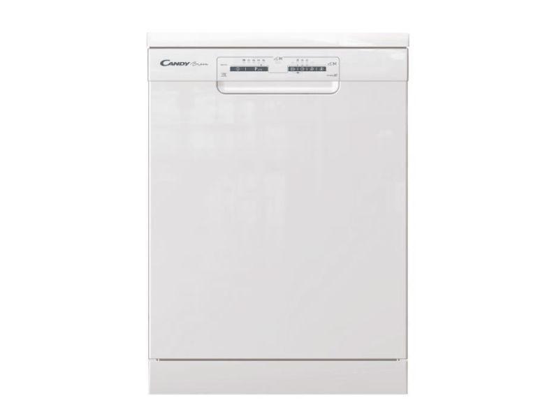 Lave-vaisselle pose libre candy 13 couverts 60cm a+++, candyhcf3c7lfw CANDYHCF3C7LFW