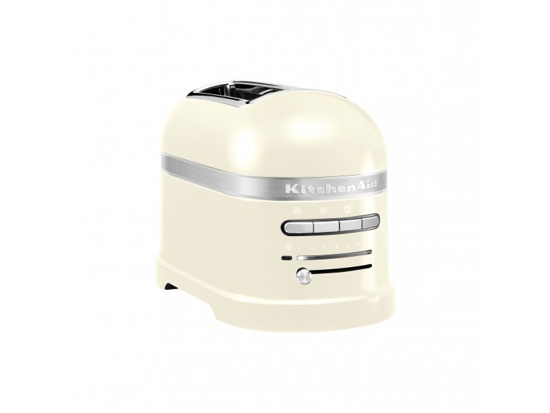Grille pain kitchenaid 2 fentes - 1250w artisan crème 5kmt2204eac