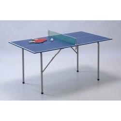 Tennis de table garlando e plateau bleu - junior c-21