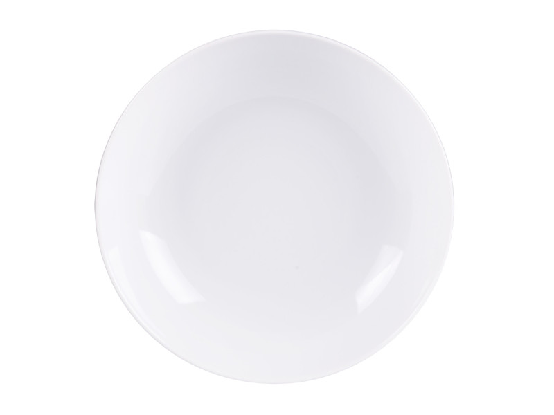 Assiette creuse zen 20 cm (lot de 6)