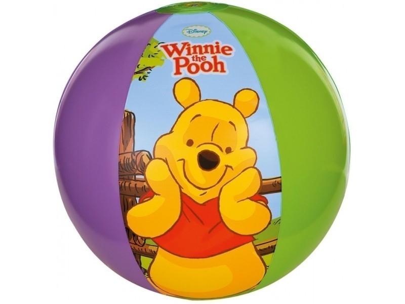 Ballon gonflable winnie l'ourson - intex - jeu d'eau pour enfant
