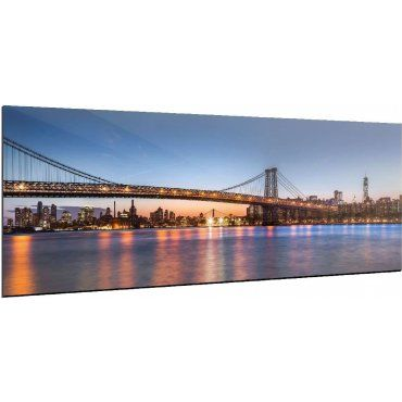 Tableau New York Bridge Photpanoalu12040 3 Vente De Recollection Conforama