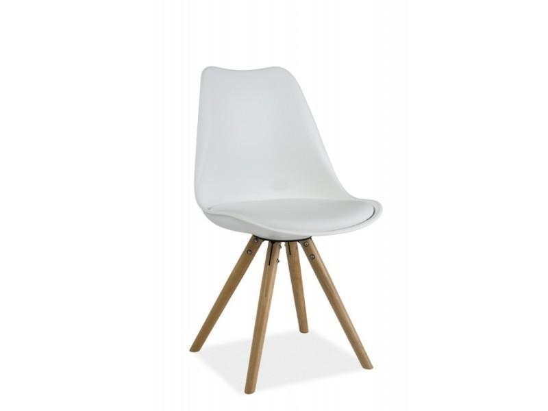 Chaise scandinave dsw design eames 4 pieds bois erie TENDENCIO