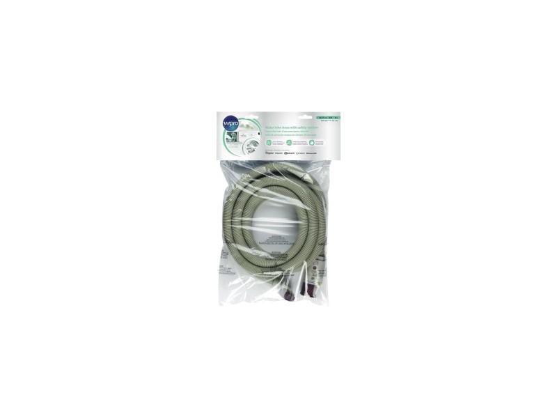 Wpro ihs400 - tuyau d'arrivée d'eau avec hydro-sécurité et filtre - 4 metre WPRIHS400