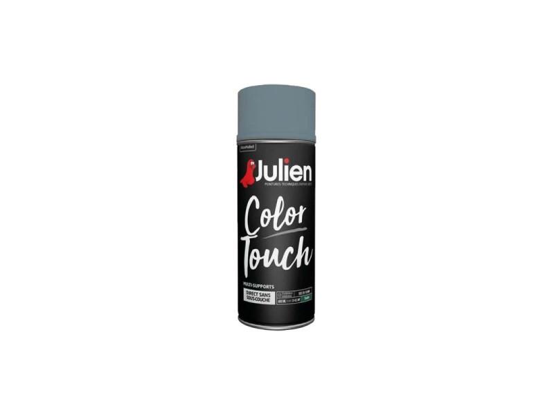 Peinture aérosol julien color touch - bleu gris - 400 ml JULBLEUGRIS