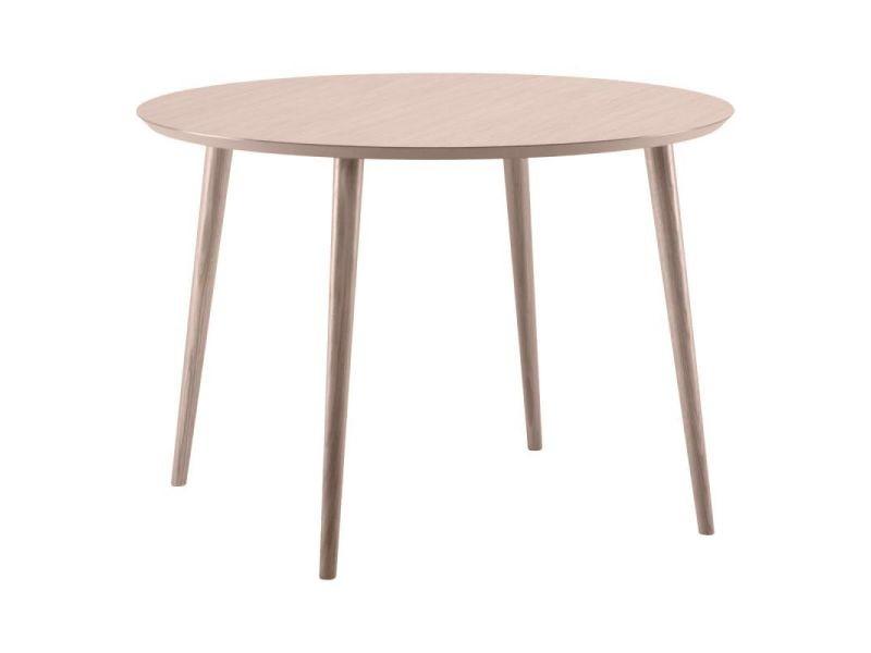 Paris prix - table de repas ronde bois \