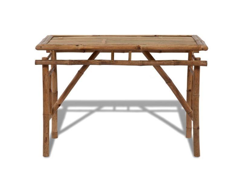 Icaverne - tables d'extérieur categorie table pliable en bambou