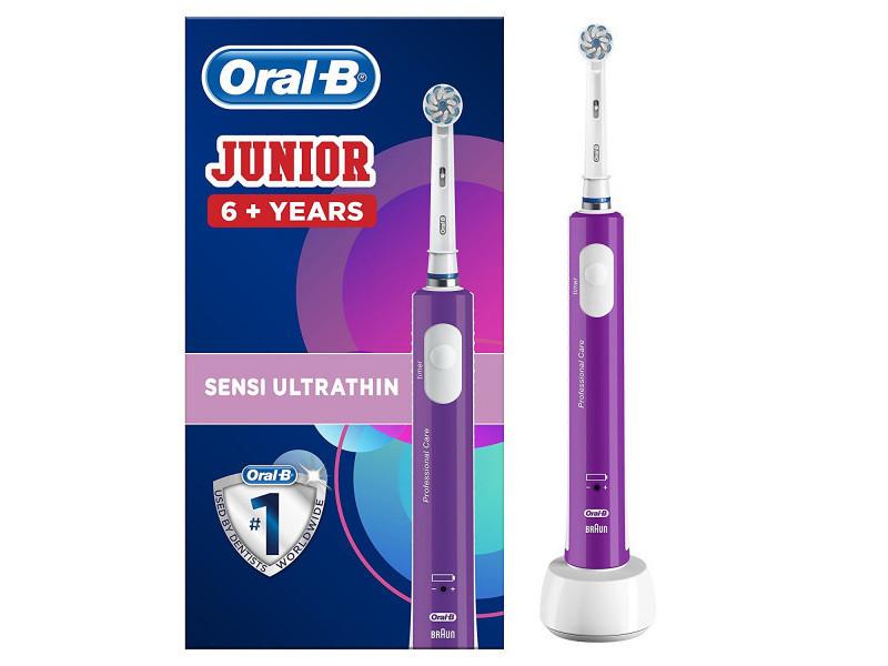 Oral-b junior 6+ brosse a dents electrique rechargeable - violet ORA4210201202332