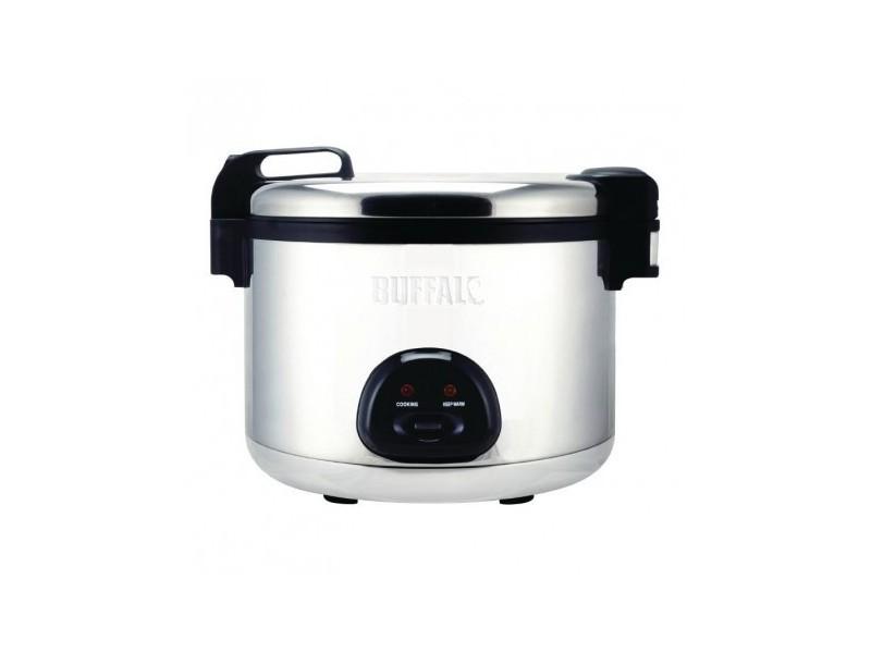 Cuiseur à riz grande capacité en inox - 9 litres - 900 cl