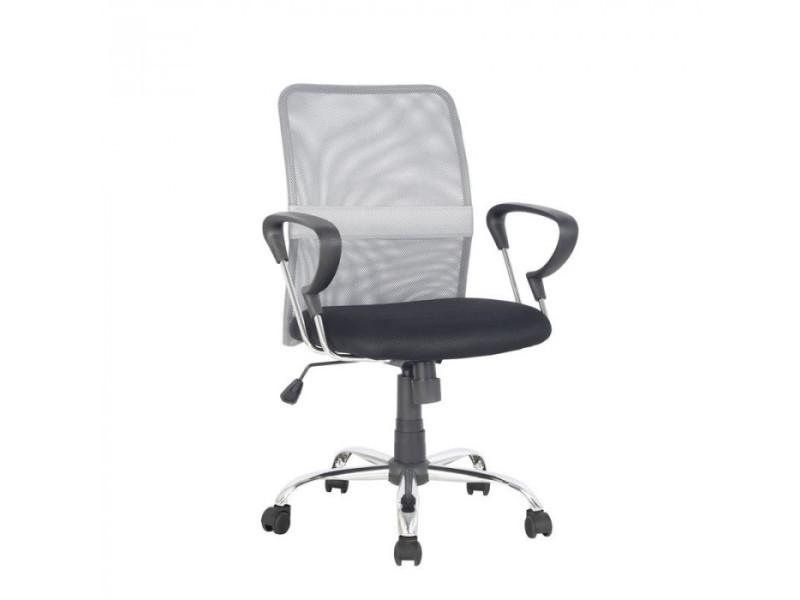 Chaise de bureau pivotante santi grise noire vente de fauteuil de