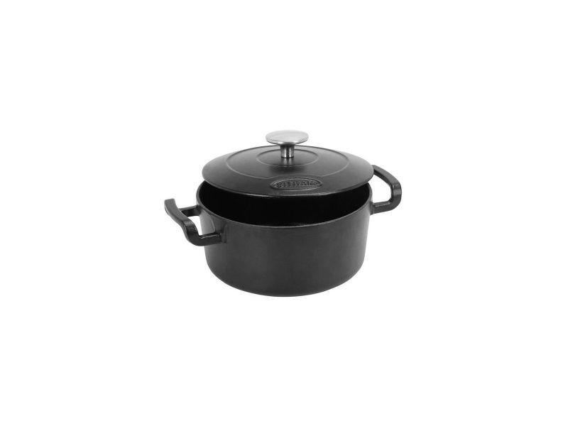 Sitram sitrabella cocotte ronde en fonte dacier emaillee - o20 cm - 2,5l