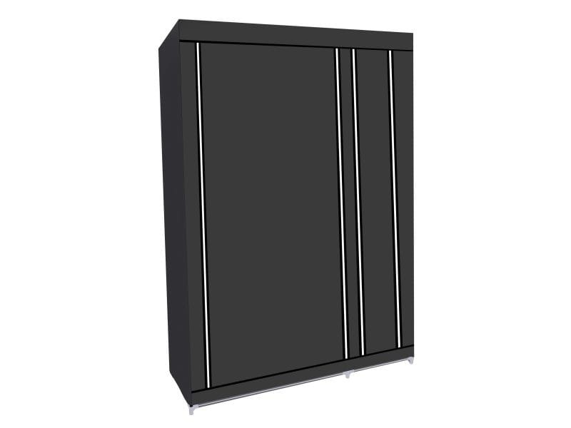 Herzberg hg-8010: armoire de rangement - petite gris