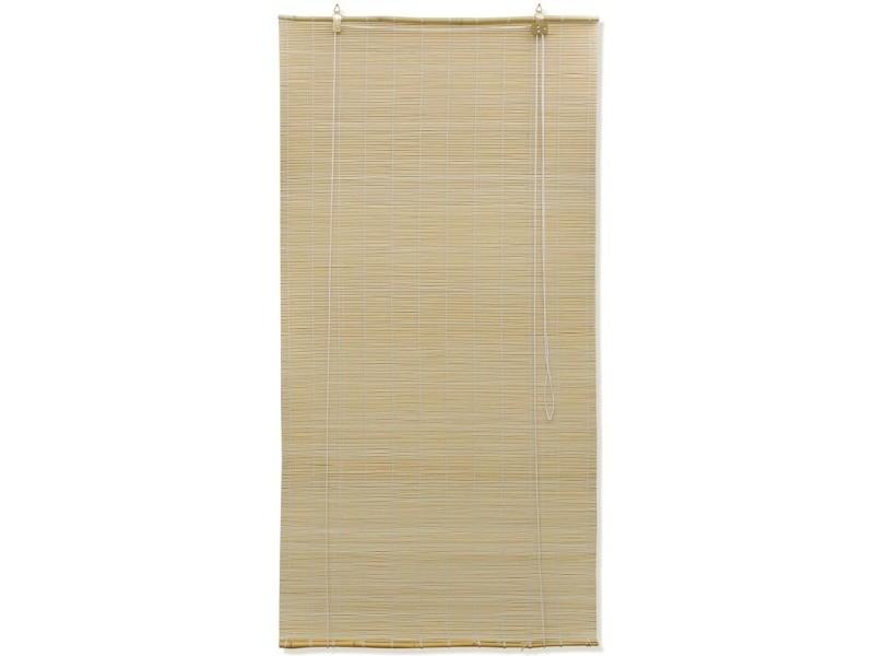 Vidaxl store roulant bambou naturel 150 x 220 cm 241325