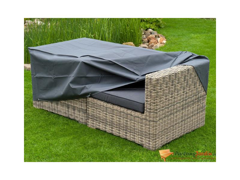 Housse de protection pour 2 fauteuils de jardin