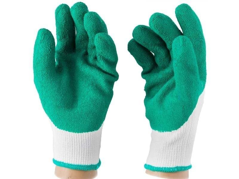 Vêtements et protections taille 10 gants épineux souple. Couleur : vert. Résistants à l'eau, à l'abr