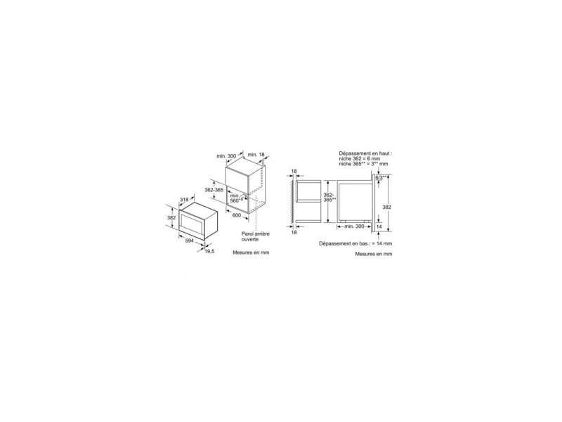 siemens micro ondes encastrable blanc 900w bf634lgw1. Black Bedroom Furniture Sets. Home Design Ideas