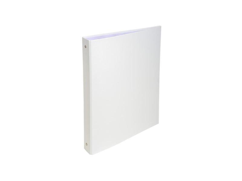 - classeur a anneaux - dos 40 mm - 21 x 29,7 - 4 anneaux - remborde plastique 18/10eme - couleur blanche EXA3130630513780