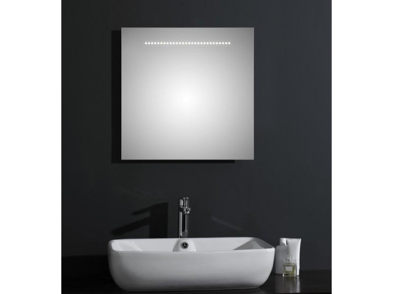 Bains Avec 60 Miroir Salle Led Brillant De Éclairage Modèle m0vNnw8O
