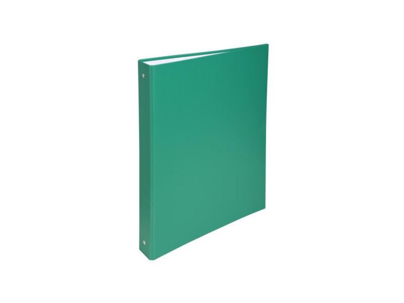 - classeur a anneaux - dos 40 mm - 21 x 29,7 - 4 anneaux - remborde plastique 18/10eme - couleur verte EXA3130630513735