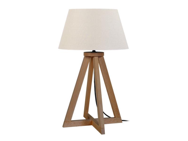 Tosel-skara; lampe a poser, 1 lumière (s); blanc - Vente de TOSEL AWHOK