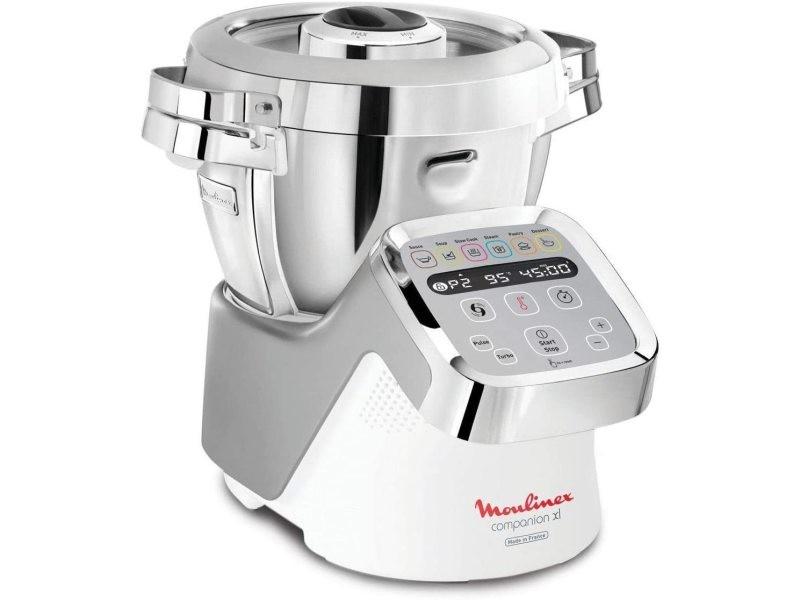 Robot cuiseur multifonction de 4,5l avec 12 vitesses 1550w