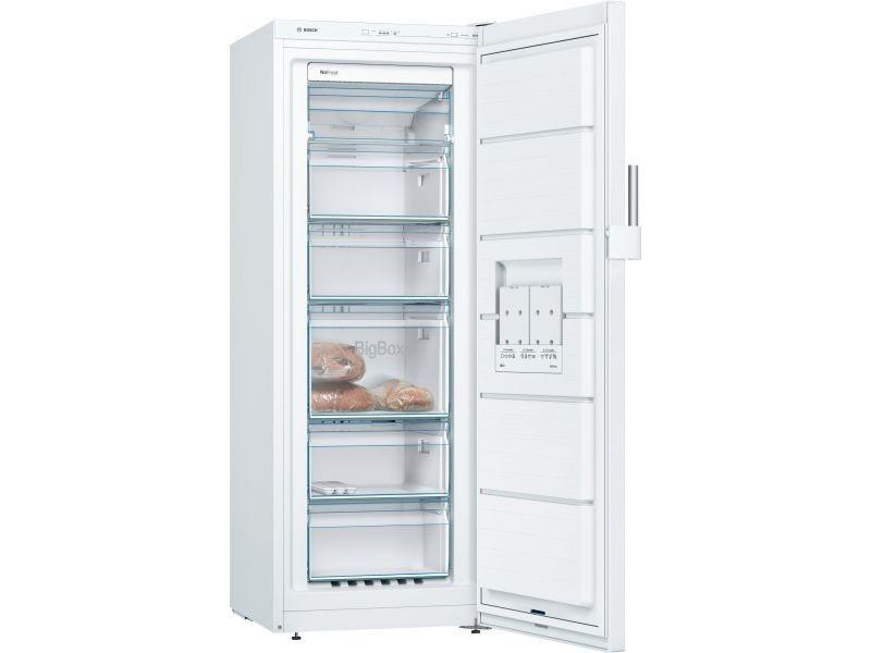 Congelateur Armoire 60cm 200l Nofrost A Blanc Gsn29cw3v