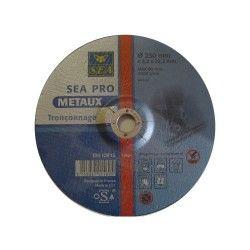 Disque à tronçonner acier ø 125x3,2mm sea