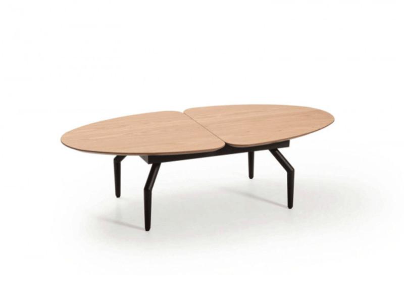 Bobochic table basse mina chêne clair