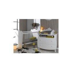 Petite chambre bébé linéa barreaux