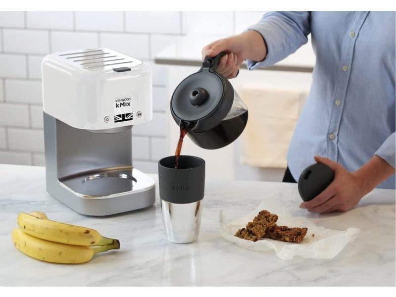 Cafetière électrique de 0,75l pour 6 tasses 1200w blanc