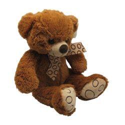 Peluche ours en acrylique brun