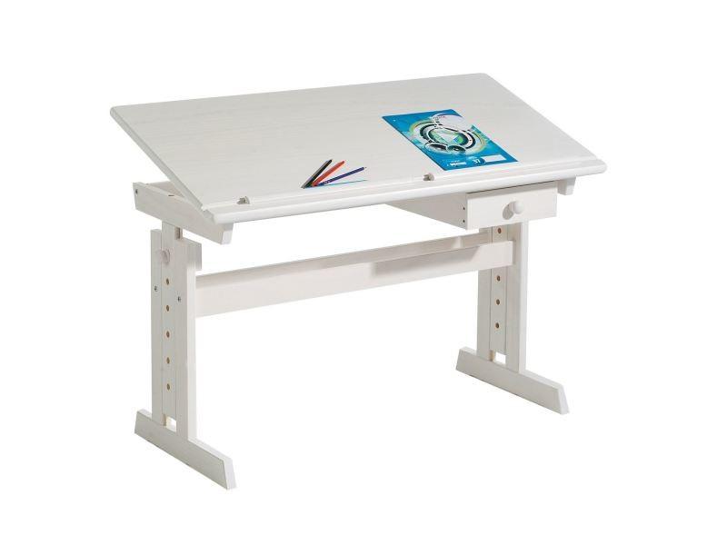 Bureau enfant écolier junior flexi table à dessin réglable en