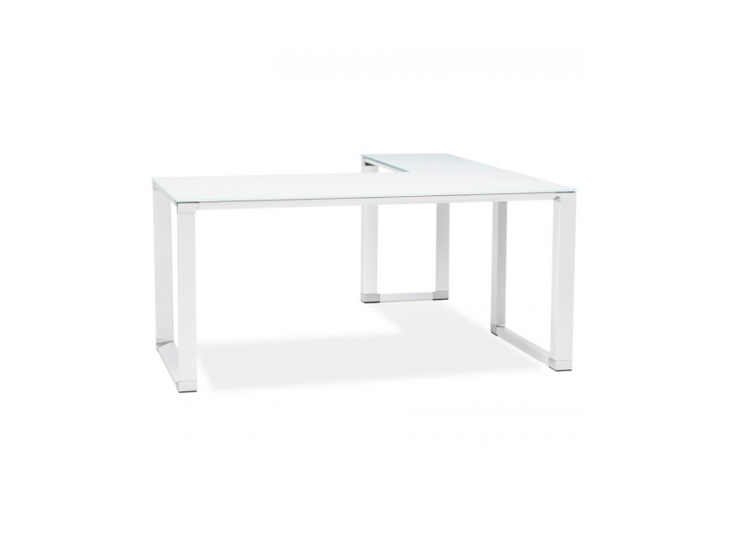 Bureau design warner white 160x170x73 cm